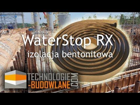 WATERSTOP RX – pęczniejąca taśma bentonitowa