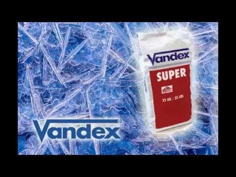 VANDEX SUPER – aktywna izolacja betonu przez krystalizację