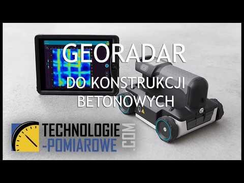 Georadar GPR LIVE do konstrukcji betonowych