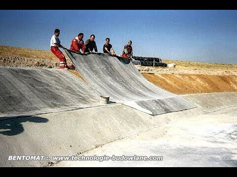 Maty bentonitowe – skuteczne izolacje budowlane