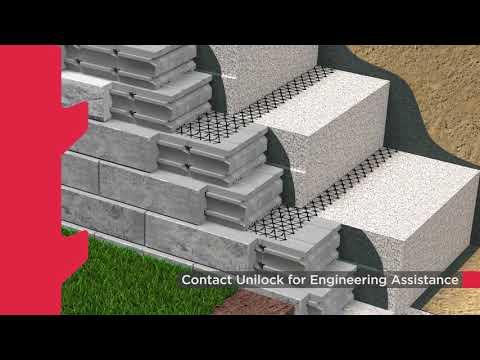 Budowa ściany oporowej