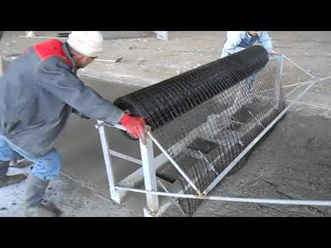 Geosiatka bazaltowa (geosiatka) do betonowania