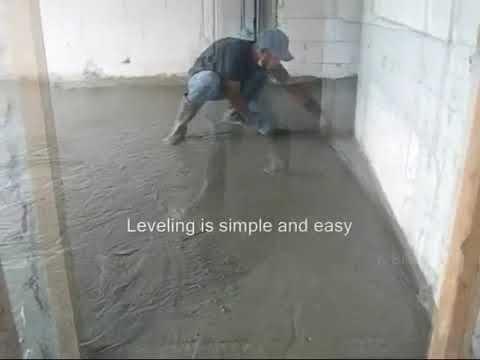 Lekkie posadzki betonowe i posypki wzmacniające
