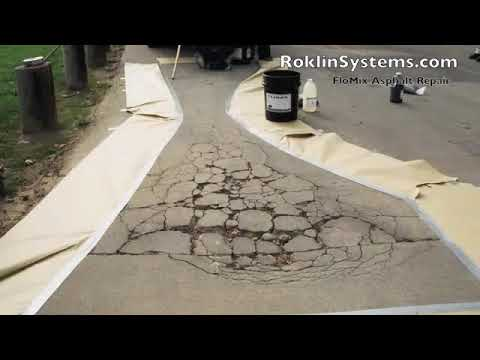 Naprawa asfaltu – jak stosować asfalt na zimno do naprawy asfaltu