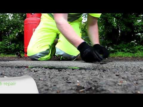 Taśma do naprawy asfaltu