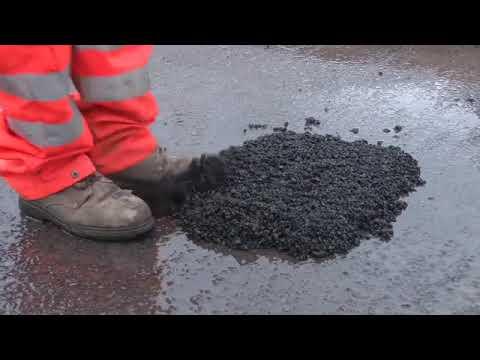 Jak kłaść asfalt na zimno w warunkach zimowych?
