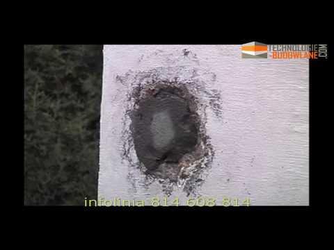 DRIZORO – naprawa i hydroizolacja betonu