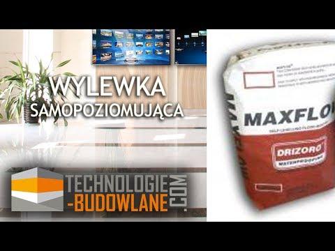 Wylewka samopoziomująca MAXFLOW Drizoro