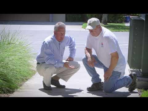 Łuszczenie powierzchnie betonowych