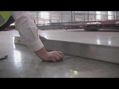 Prosta metoda sprawdzenia równości wykonania powierzchni posadzki przemysłowej