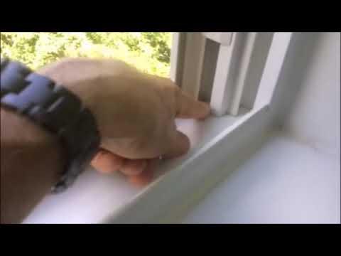 Uszczelnienie przecieku pod oknem. Trudne miejsce do doszczelnienia przecieku.