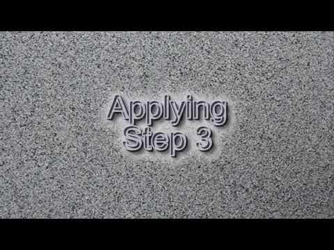 Nakładanie betonowej powłoki podłogowej typu Granitex