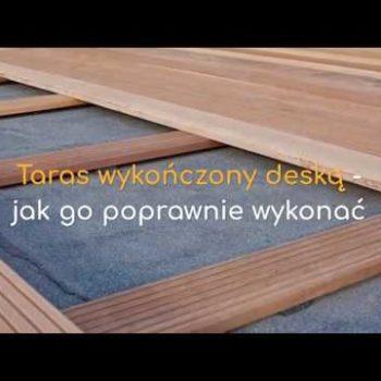 Taras wykończony drewnianymi deskami – jak go poprawnie wykonać