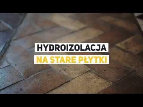 Hydroizolacja na stare plytki