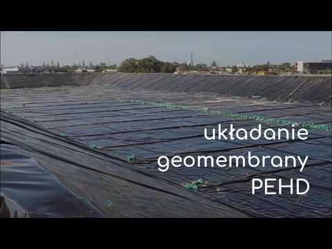 Układanie geomembrany PEHD – hurtownia HURTLAND  – 814 608 814