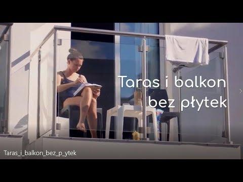 Jak wykończyć taras i balkon bez płytek