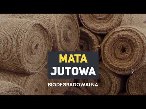Mata jutowa biodegradowalna