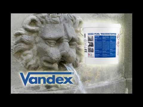 VANDEX RAPID 2 – blokowanie wyciekow wody